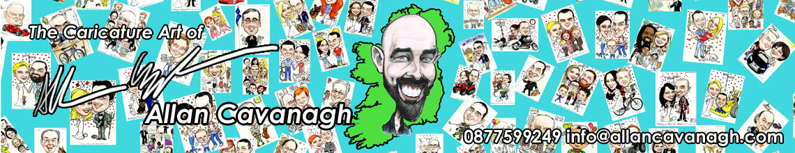 The Caricature Art of Allan Cavanagh